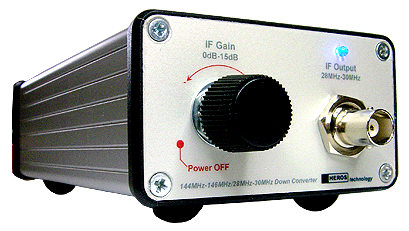 VHF Down Converter from Heros Technology Ltd